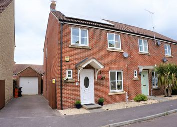 Thumbnail 3 bed end terrace house for sale in Lampeter Road, Swindon