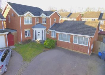 Thumbnail 4 bedroom detached house for sale in Jackdaw Close, Stevenage, Herts