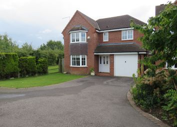 Thumbnail 4 bed detached house for sale in Deer Close, Grange Park, Northampton