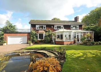 Thumbnail 5 bed detached house for sale in Chester Road, Middlewich, Cheshire