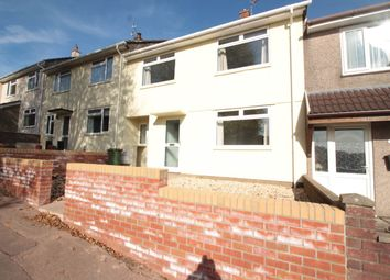 Thumbnail 3 bed terraced house to rent in Broadview, Cwmbran, Torfaen
