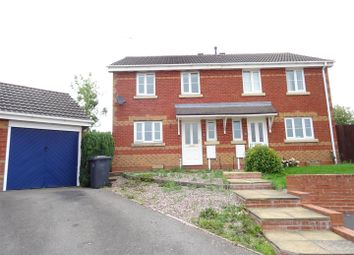 Thumbnail 3 bed semi-detached house for sale in Howe Road, Whitwick, Leicestershire