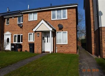Thumbnail 1 bed semi-detached house to rent in Foxdale Drive, Brierley Hill