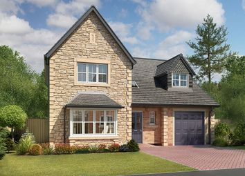 "Thumbnail 4 bed detached house for sale in ""Taunton"" at Houghton Road, Houghton, Carlisle"