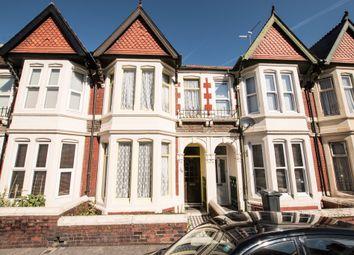 Thumbnail 4 bed terraced house for sale in Heathfield Road, Heath, Cardiff