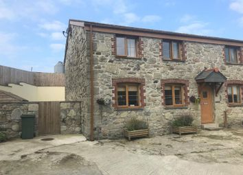 Thumbnail 3 bed semi-detached house to rent in Black Cross, Newquay