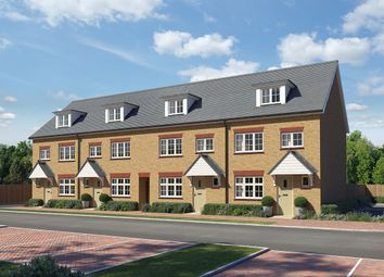 "Thumbnail 4 bed terraced house for sale in ""Grantham Mid"" at Roman Way, Rochester"