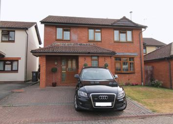 Thumbnail 4 bed detached house for sale in Maes Y Nant, Creigiau
