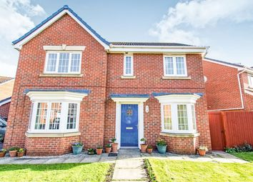 Thumbnail 4 bedroom detached house for sale in Augustus Close, North Hykeham, Lincoln