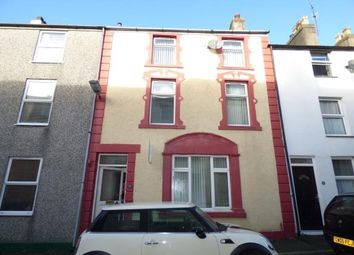 Thumbnail 4 bed terraced house for sale in New Street, Caernarfon, Gwynedd