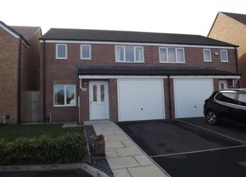 Thumbnail 3 bed semi-detached house to rent in Woolf Drive, South Shields