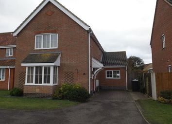 Thumbnail 3 bed detached house to rent in Worlingham, Beccles