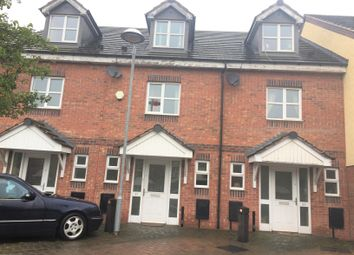 Thumbnail 3 bedroom town house to rent in Manor House Close, Walsall