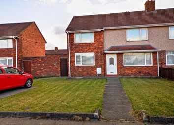 Thumbnail 2 bed semi-detached house to rent in Romford Road, Stockton-On-Tees