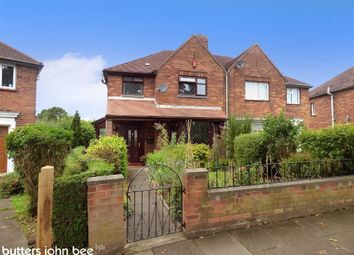 Thumbnail 3 bedroom semi-detached house for sale in Selworthy Drive, Crewe