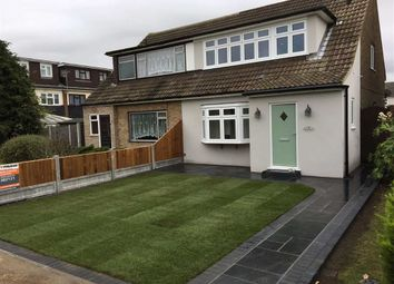 Thumbnail 3 bedroom semi-detached house for sale in Dorset Gardens, Linford, Essex