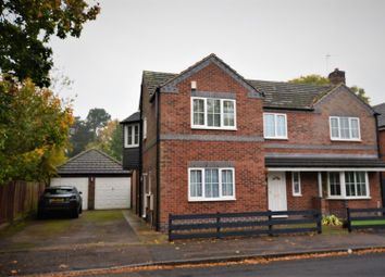Thumbnail 4 bed detached house for sale in East Avenue, Mickleover, Derby
