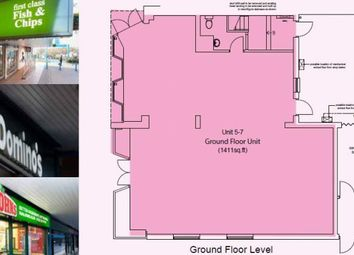 Thumbnail Retail premises to let in Potential Restaurant Or Cafe Use, Park Farm Shopping Centre, Derby