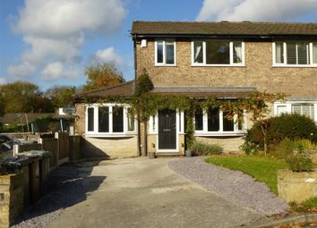 Thumbnail 4 bed semi-detached house for sale in Turnlee Drive, Glossop, High Peak