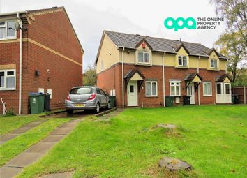 Thumbnail 2 bed semi-detached house for sale in Wenyon Close, Tipton