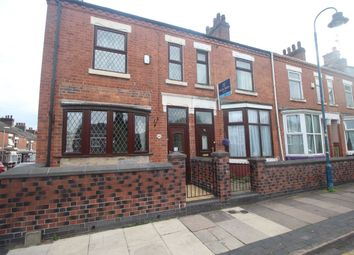 Thumbnail 3 bed terraced house to rent in Wellesley Street, Hanley, Stoke-On-Trent