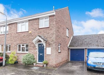 Thumbnail 3 bed semi-detached house for sale in Du Cane Place, Witham