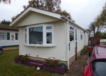 Thumbnail 2 bed mobile/park home for sale in Beechfield Park, Hook Lane, Aldingbourne, Chichester, West Sussex