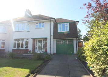 Thumbnail 4 bed semi-detached house for sale in St. Michaels Road, Crosby, Liverpool