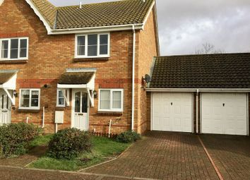 Thumbnail 2 bedroom terraced house to rent in Oakham Drive, Lydd, Romney Marsh