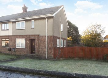 Thumbnail 3 bed semi-detached house for sale in Kerrmuir Avenue, Hurlford