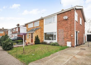 Thumbnail 3 bed semi-detached house for sale in Aldridge Close, Greenhill, Herne Bay, Kent
