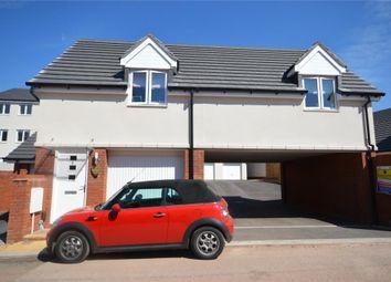 Thumbnail 2 bedroom detached house for sale in Crimson King, Cranbrook, Exeter, Devon