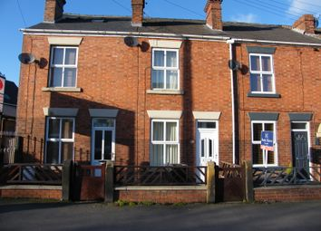 Thumbnail 2 bed terraced house for sale in Chatsworth Road, Brampton, Chesterfield