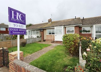 Thumbnail 2 bed terraced bungalow to rent in Aberdale Road, Polegate, East Sussex