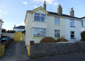 Thumbnail 3 bed semi-detached house to rent in Chatsworth Road, Torquay