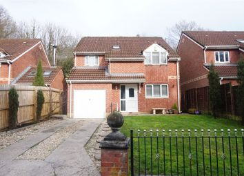 Thumbnail 4 bed detached house for sale in Riverside Court, Woodfieldside, Blackwood, Caerphilly