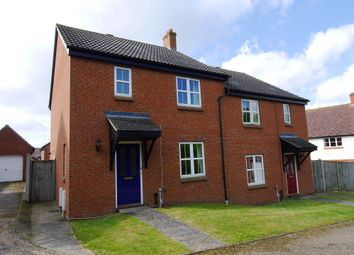 Thumbnail 3 bedroom semi-detached house to rent in Ward Close, Hadleigh, Ipswich, Suffolk