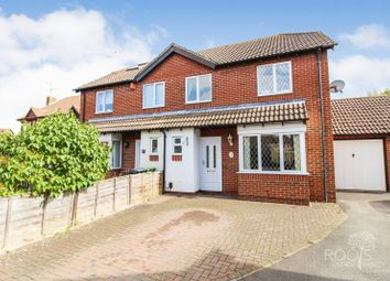 Thumbnail 4 bed semi-detached house for sale in Barley Close, Thatcham