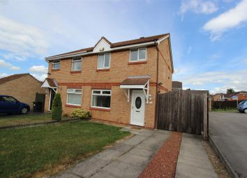 Thumbnail 3 bed end terrace house for sale in Mendip Grove, Darlington