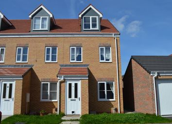 Thumbnail 3 bed town house for sale in Corporal Roberts Close, Hemlington, Middlesbrough