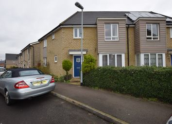 Thumbnail 4 bed semi-detached house to rent in Cromwell Drive, Huntingdon