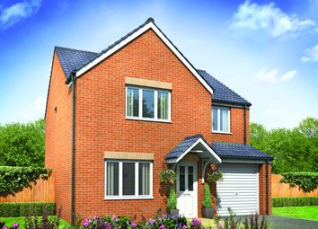 "Thumbnail 4 bed detached house for sale in ""The Roseberry"" at Derwen View, Brackla, Bridgend"