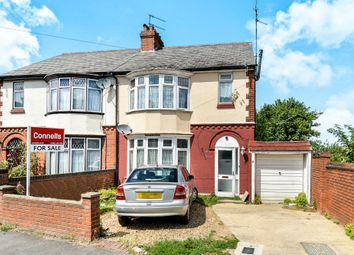 Thumbnail 3 bedroom semi-detached house for sale in St. Augustine Avenue, Luton