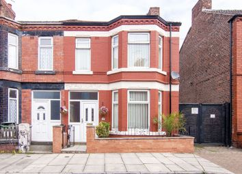 Thumbnail 3 bed end terrace house for sale in Raffles Road, Tranmere, Birkenhead
