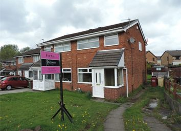 Thumbnail 3 bedroom semi-detached house for sale in Surrey Close, Little Lever, Bolton