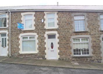 Thumbnail 3 bed terraced house for sale in Treharne Road, Maesteg, Mid Glamorgan