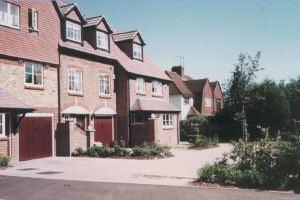 Thumbnail 3 bed town house to rent in Virginia Place, Cobham