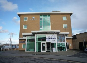 Thumbnail 2 bed flat to rent in Charles House, Gosport Marina, Gosport