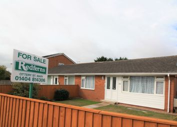Thumbnail 2 bed semi-detached bungalow for sale in Wells Avenue, Feniton, Honiton