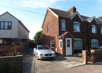 Thumbnail 3 bed semi-detached house for sale in Harwich Road, Little Oakley, Harwich